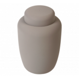 Biologische urn grijs