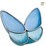 Grote vlinder urn