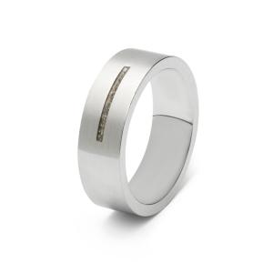 Stalen ring , 1 streep