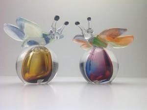 Vlinders kristalglas