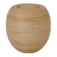 Natuurlijke urn Bakka- Bamboo