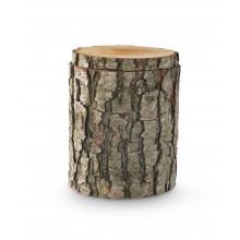 Natuurlijke urn Tree trunk
