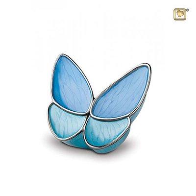 Kleine vlinder urn