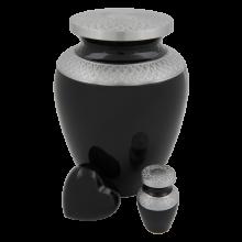 Aluminium urn Celeste Charcoal
