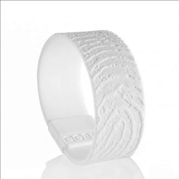 Kunststof armband met vingerafdruk