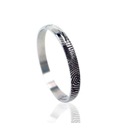 Armband met vingerafdruk
