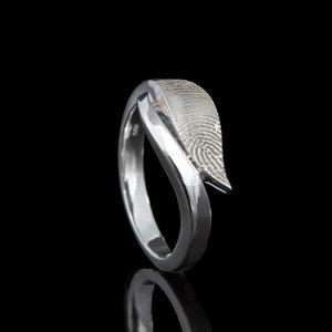 Design vingerafdruk ring