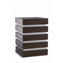 Natuurlijke urn Cube decor Modern