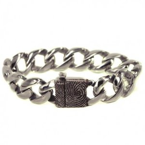armband met vergrootte vingerafdruk